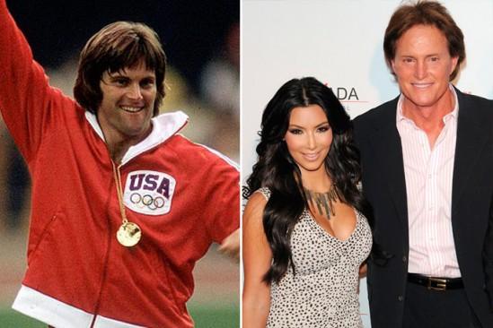 Bruce Jenner y Kim Kardashian