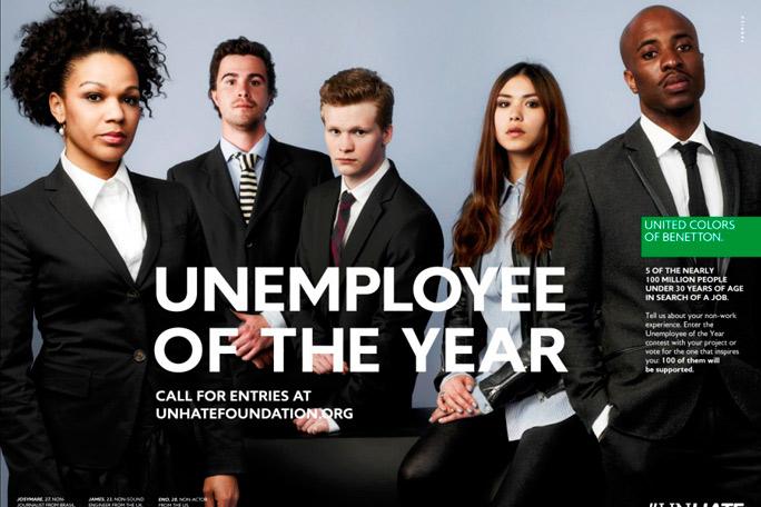 Desempleado del mes, Benetton