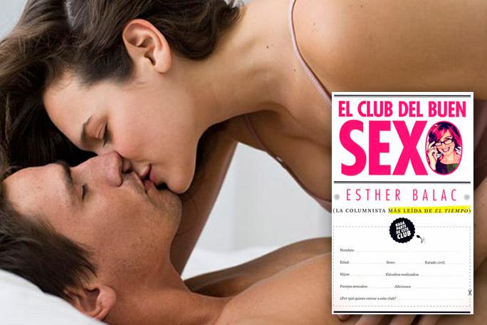 Esther Balac sexóloga, El club del buen sexo libro
