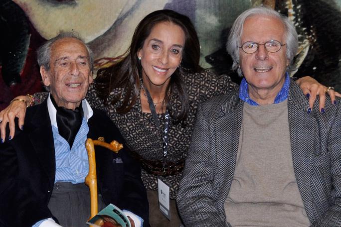 Álvaro Castaño, Pilar Castaño y Bernardo Hoyos