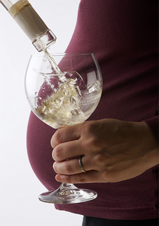 Alcohol embarazo