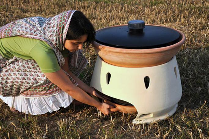Destilador ecológico de agua