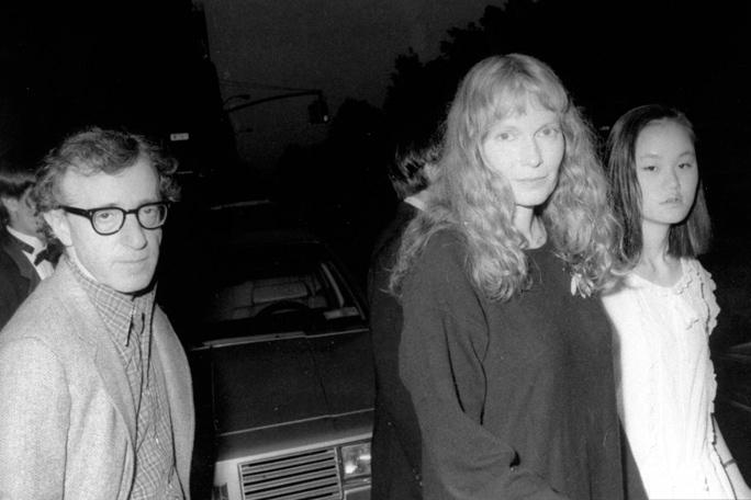 Mia Farrow, Soon Yi Previn y Woody Allen