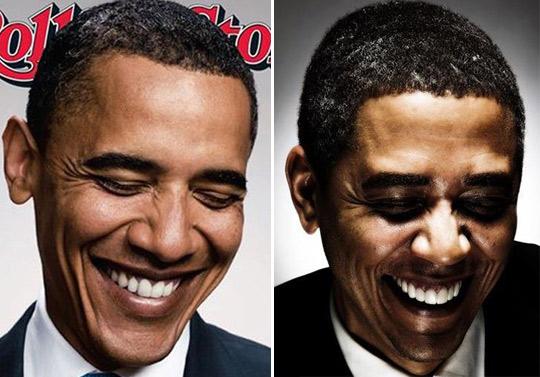 Reggie Brown y Barack Obama