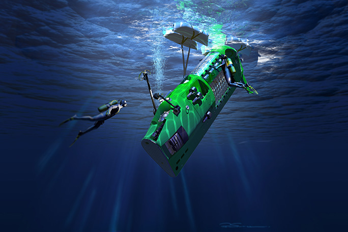 Submarino Deepsea Challenger
