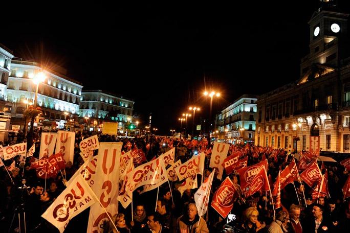 Huelga España