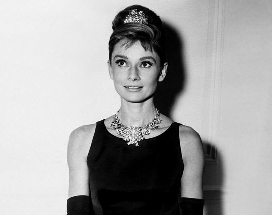 Collar Audrey Hepburn-Antiguo-Maxi collares