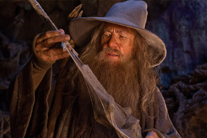 El Hobbit, Gandalf