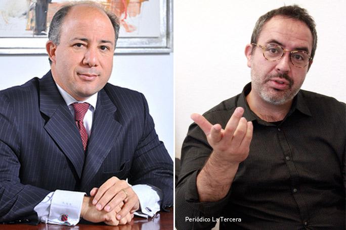 Gonzalo Delaveau y Alejandro Salas