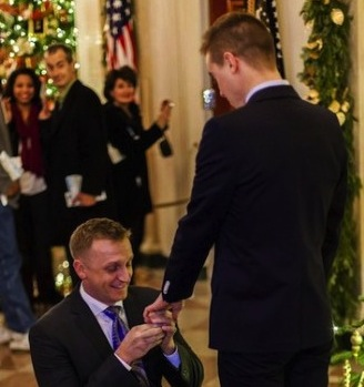 Histórica propuesta de matrimonio gay en la Casa Blanca
