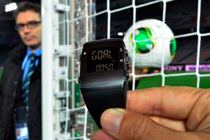 Reloj marca goles