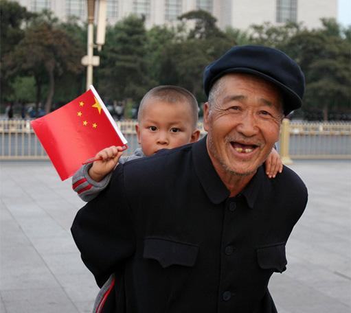 Visitar abuelos en China