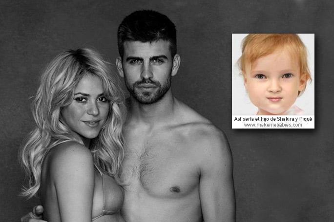Bebe Shakira y Piqué
