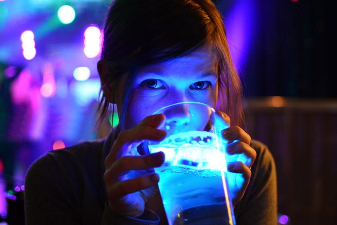 Cubos de hielo LED