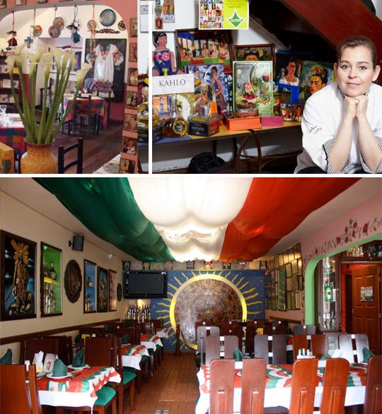 Elisa Mendoza, Restaurante Frida, Museo del tequila