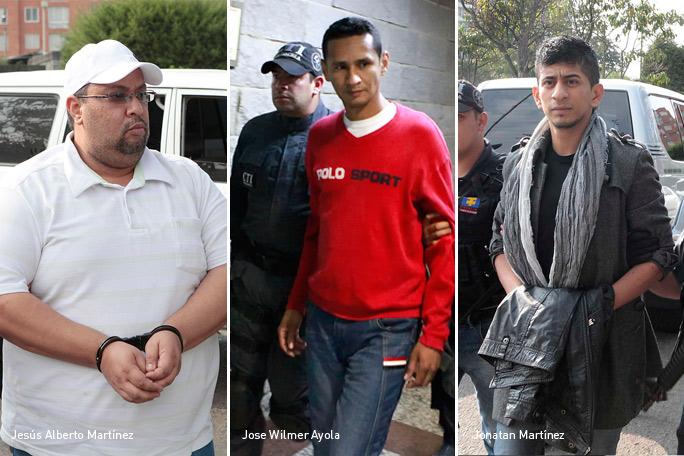 Jonatan Martínez, Jose Wilmer Ayola, Jesús Alberto Martínez, Caso Colmenares