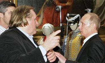 Gérard Depardieu y Putin