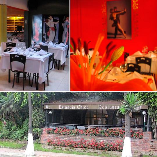 Mi viejo tango, Estancia Chica restaurante