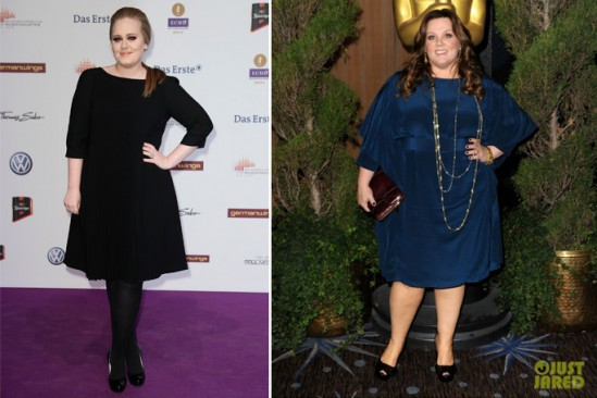Adele, Melissa McCarthy Marina Rinaldi
