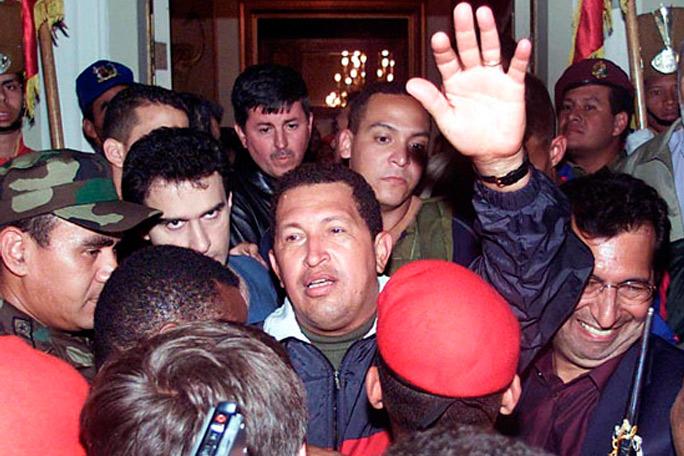 Crisis en el poder Venezuela