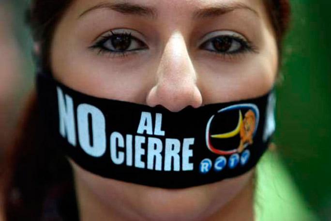 Cierre canales tv Venezuela