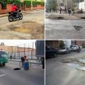 Huecos en Bogotá