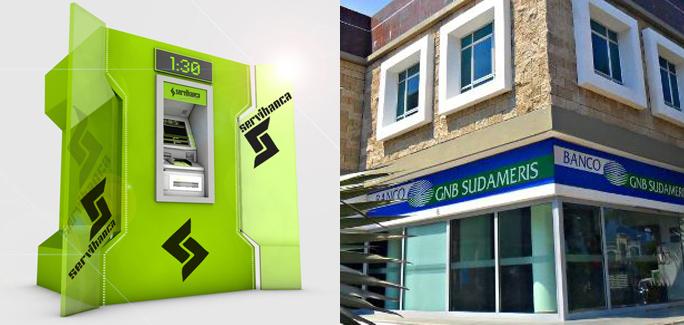 Kienyke Banco Sudameris, Servibanca