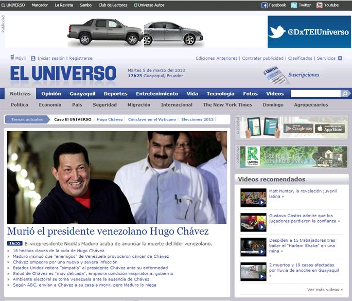 El Universo Ecuador