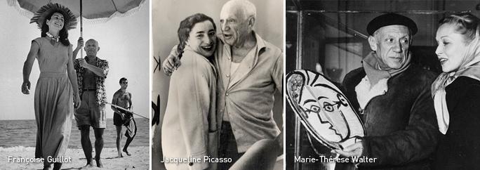 Françoise Guillot, Jacqueline Picasso, Marie-Thérese Walter, Esposas de Picasso, Kienyke