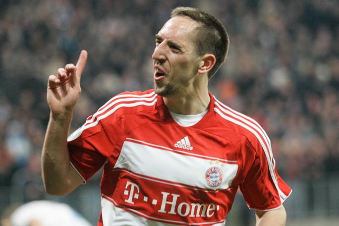 Franck Ribery, Kienyke