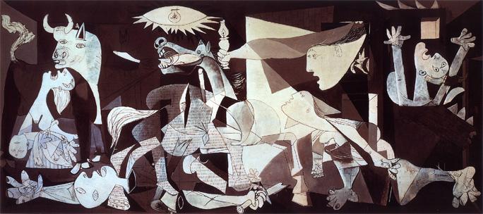 Guernica, Picasso, Kienyke