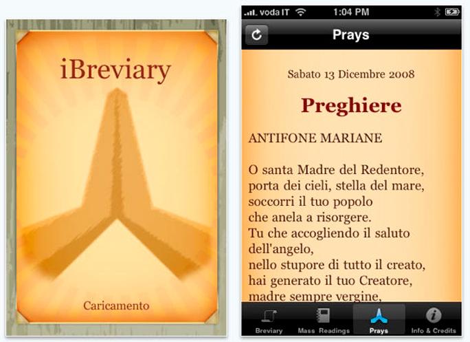 Ibreviary app