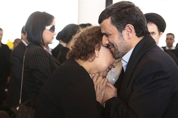 Kienyke Ahmadinejad ahmadinejad y elena Frias