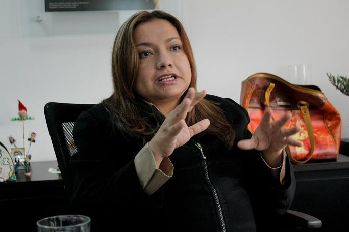 Luz Elena Sarmiento, Kienyke
