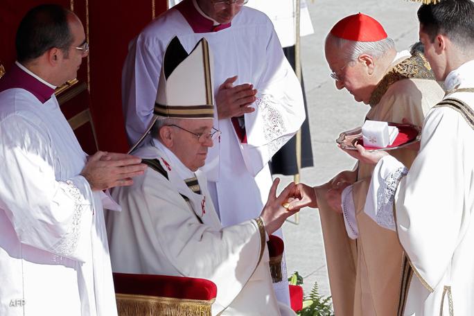 Papa Francisco, anillo, Kienyke, Vaticano