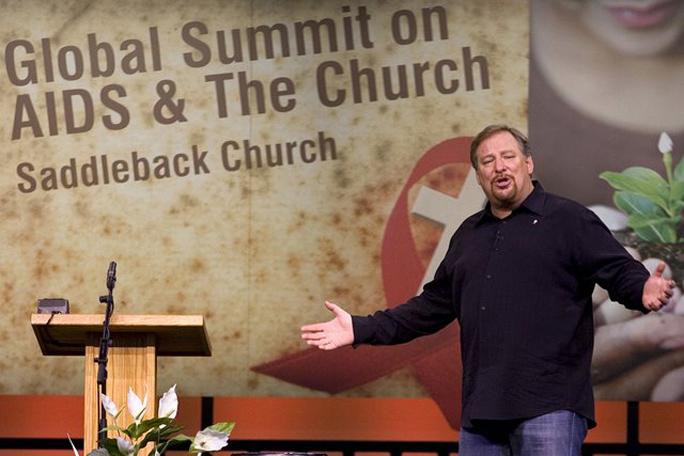 Kienyke, Rick Warren