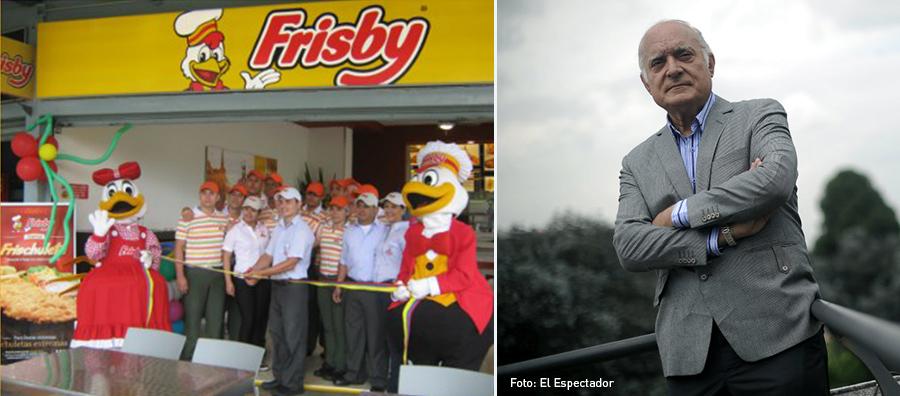 Alfredo Hoyos Mazuera, Pollo frito, Frisby, Colombia, Kienyke