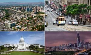 San José, San Francisco, Washington, Chicago, Kienyke