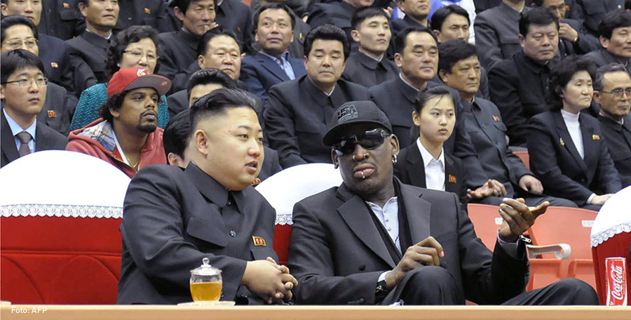 Dennis Rodman y Kim Jong Un, Kienyke