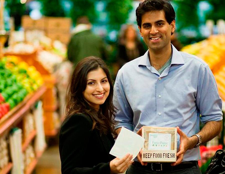 Kavita Shukla y Swaroop Samant, Freshpaper, Kienyke