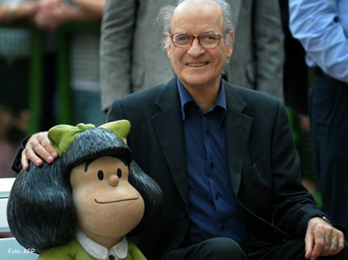 Quino y Mafalda, Kienyke