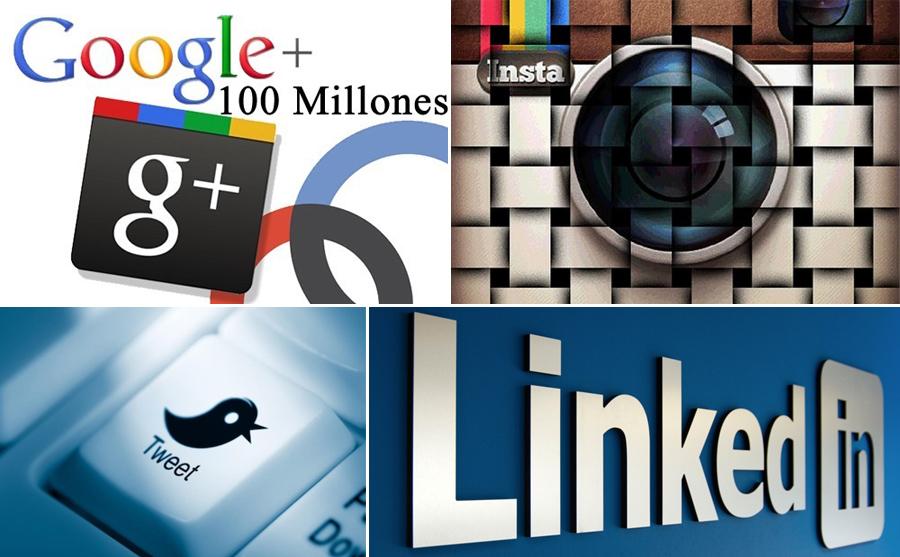 Redes sociales, Google+, Instagram, Twitter, Linkedin, Kienyke