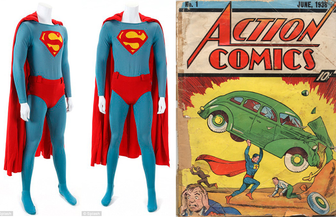 Traje, Comic, Superman, Kienyke