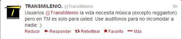 Transmilenio, Twitter, Kienyke