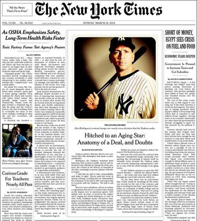 foto de instagram en The ney York Times