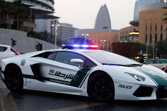 lamborghini policia en Dubai,kienyke