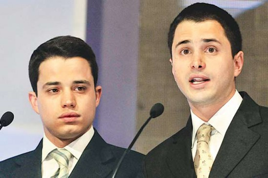Tomas Uribe y Jeronimo Uribe