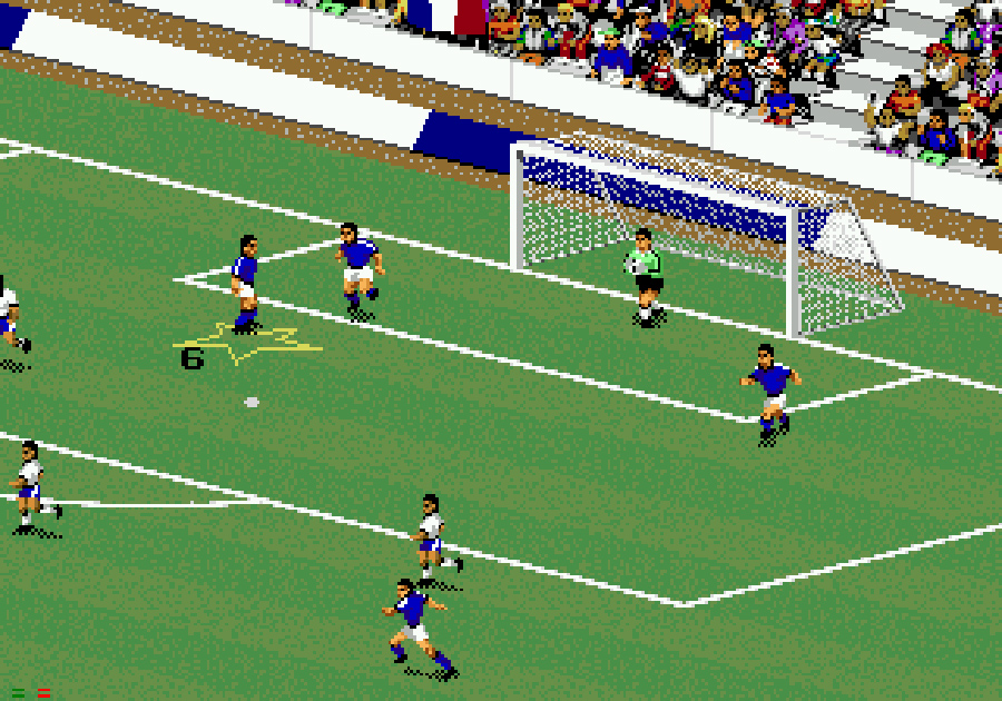 FIFA International Soccer 1993, Kienyke