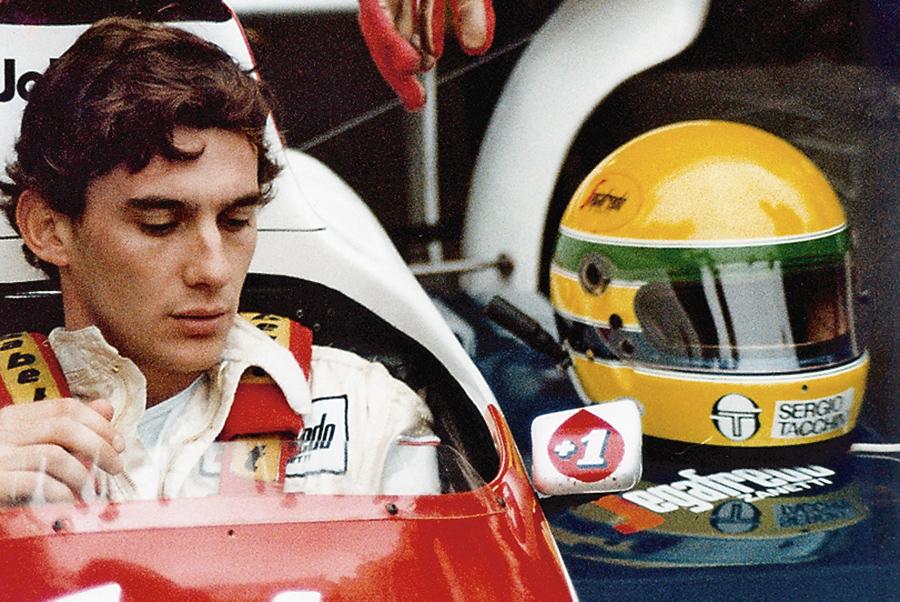 Ayrton Senna, Kienyke