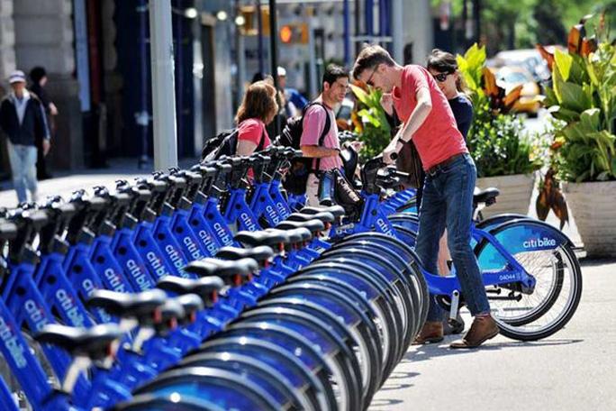 Bicicleta libres en New York, kienyke